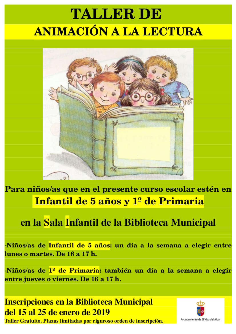 cartel animac. lectura