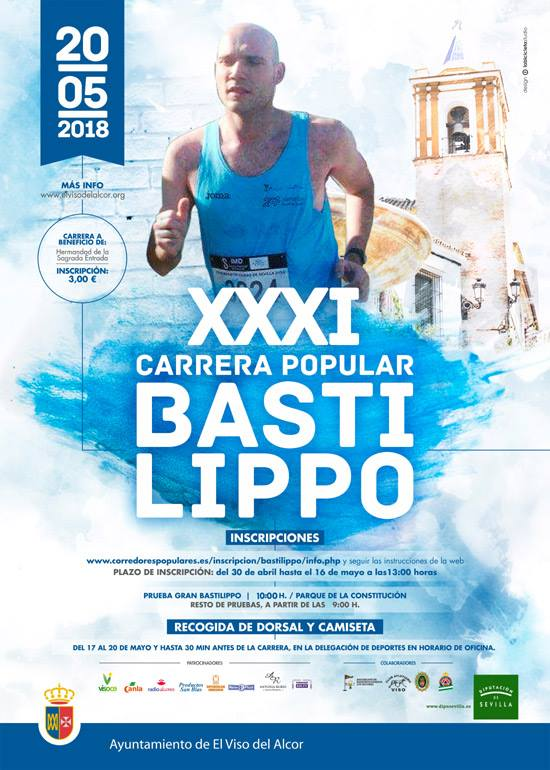 cartel XXXI Carrera Popular Bastilippo